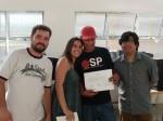 Entrega de certificados: Ivo