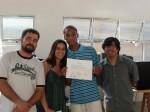 Entrega de certificados: Jonathas