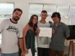 Entrega de certificados: Renan