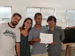 Entrega de certificados: Antônio